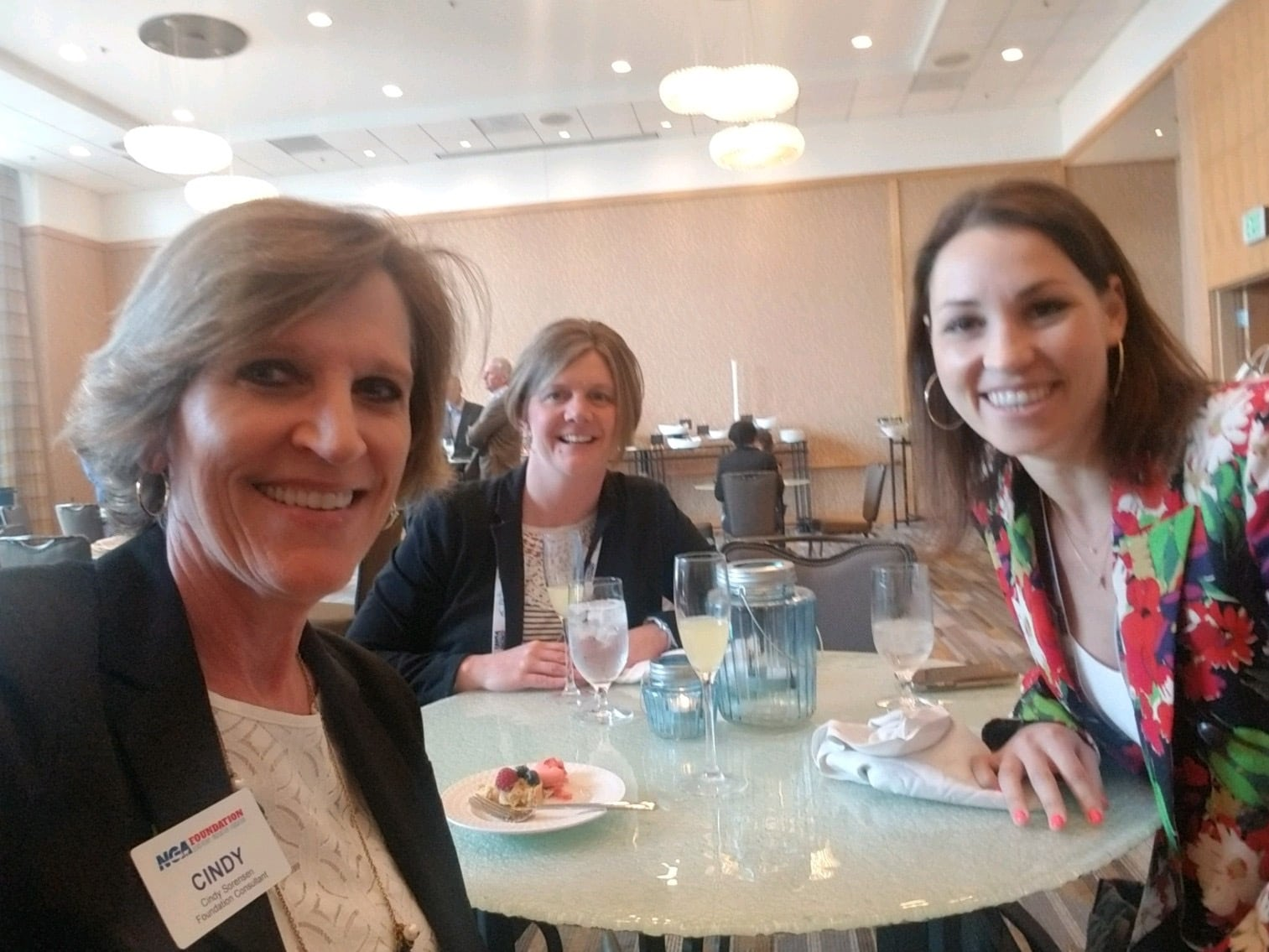 Cindy with Amy Niemetscheck from Certo and Emily Coborn from Coborns, Inc.
