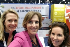 Cindy with Kate Hotze and Louise Pritchard Grocery Shopii
