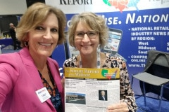 Cindy with Lorrie Griffith from The Shelby Report